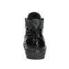 Kožené kotníčkové tenisky se zipy bata, černá, 546-6600 - 17