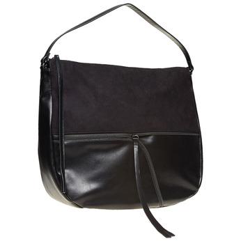 Dámská černá kabelka bata, černá, 969-6460 - 13