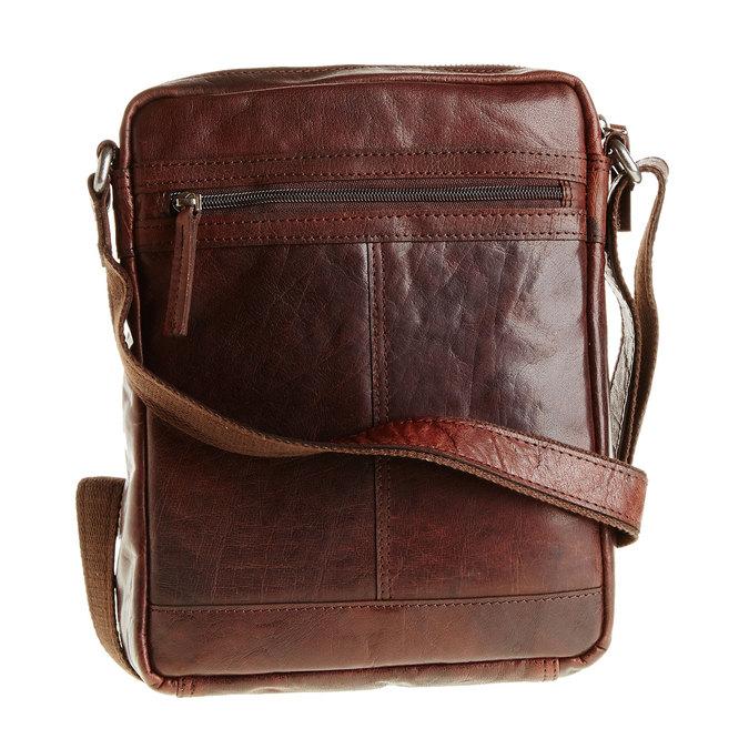 Pánská kožená  Crossbody taška bata, hnědá, 964-4180 - 26