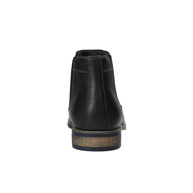 Pánské černé Chelsea Boots bata, černá, 891-6601 - 17