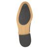 Ležérní kožené polobotky hnědé bata, hnědá, 826-3653 - 26