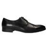 Černé kožené polobotky bata, černá, 824-6732 - 15