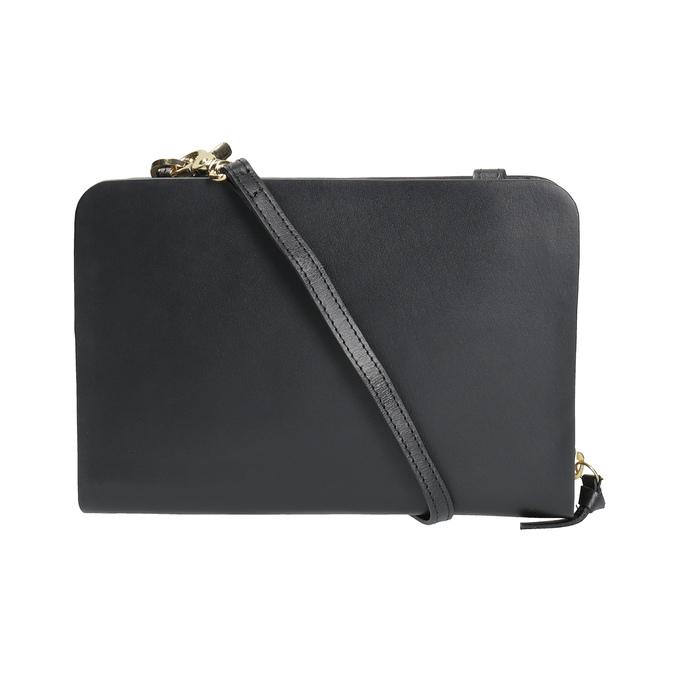 Kožená Crossbody kabelka černá royal-republiq, černá, 964-6017 - 19