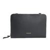 Kožená Crossbody kabelka černá royal-republiq, černá, 964-6017 - 26