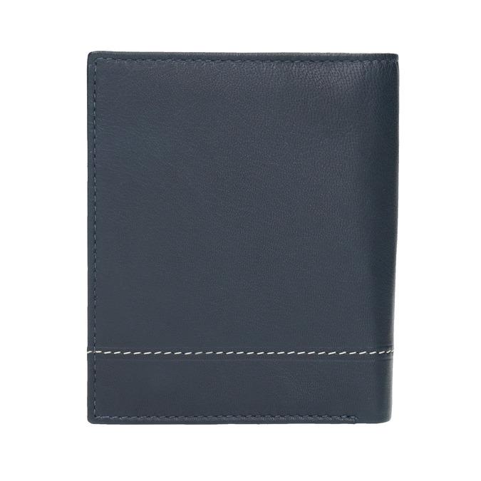 Kožená pánská peněženka bata, modrá, 944-9174 - 19
