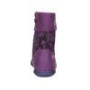 Kožená kotníčková obuv dívčí, fialová, 326-5008 - 17