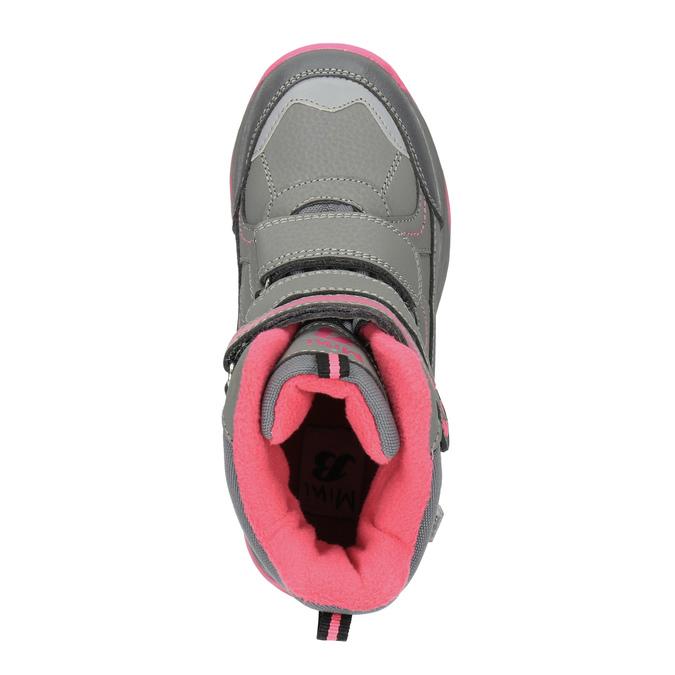Dětská zimní obuv mini-b, šedá, 391-2100 - 19