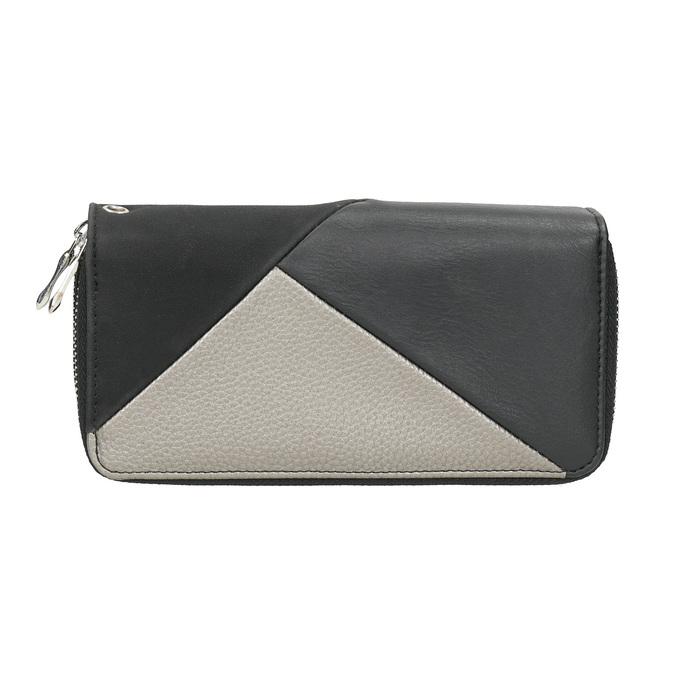 Dámská peněženka v Patchwork stylu bata, černá, 941-6152 - 26