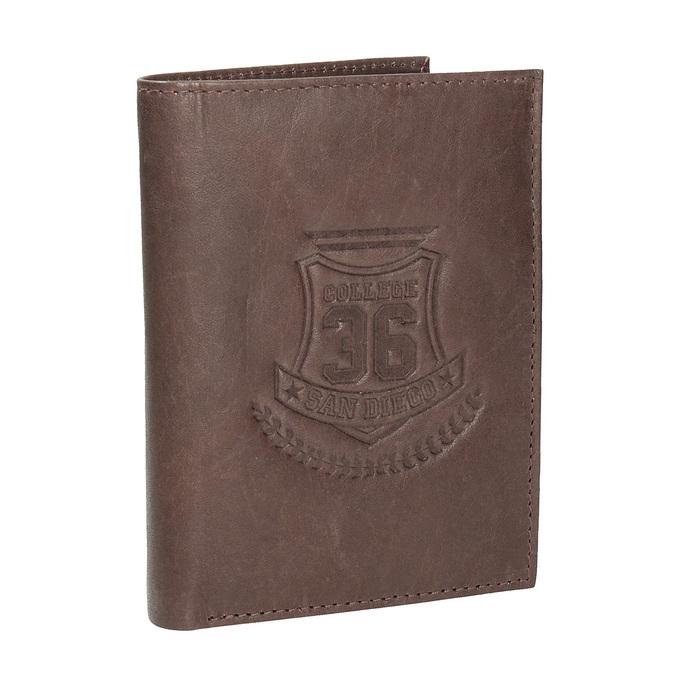 Stylová pánská peněženka bata, hnědá, 944-4172 - 13