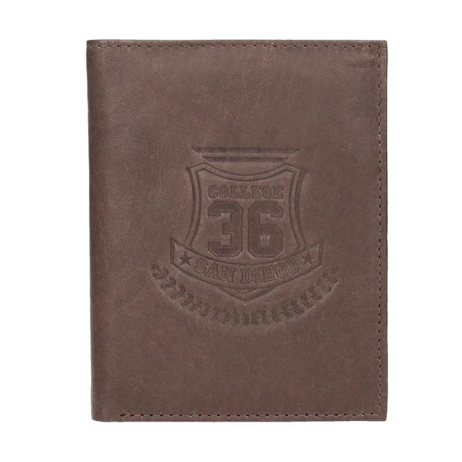 Stylová pánská peněženka bata, hnědá, 944-4172 - 26