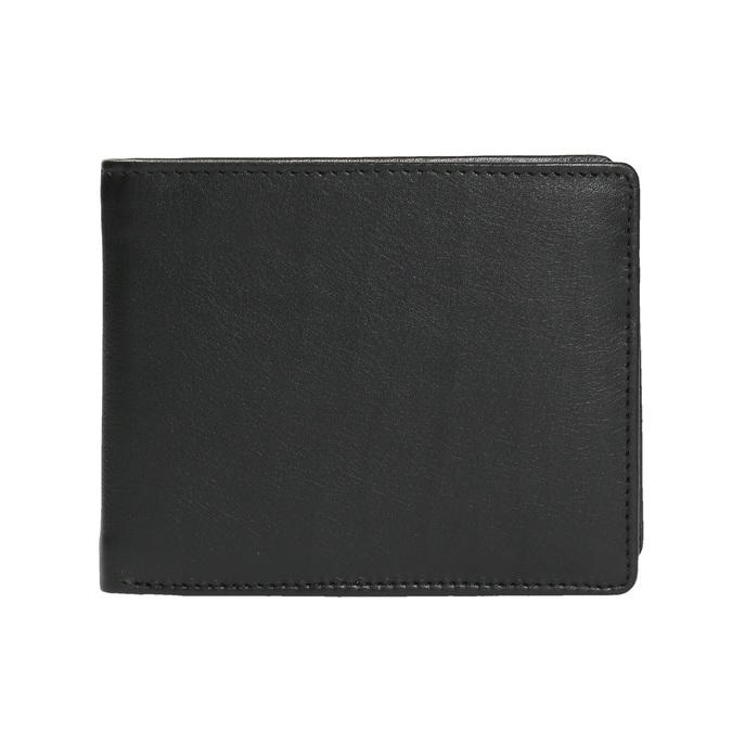 Pánská kožená peněženka bata, černá, 944-6170 - 26