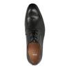 Pánské kožené polobotky černé bata, černá, 824-6771 - 19