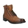 Pánská obuv v Ombré stylu bata, hnědá, 896-3649 - 13