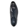 Modré kožené polobotky bata, modrá, 826-9769 - 19