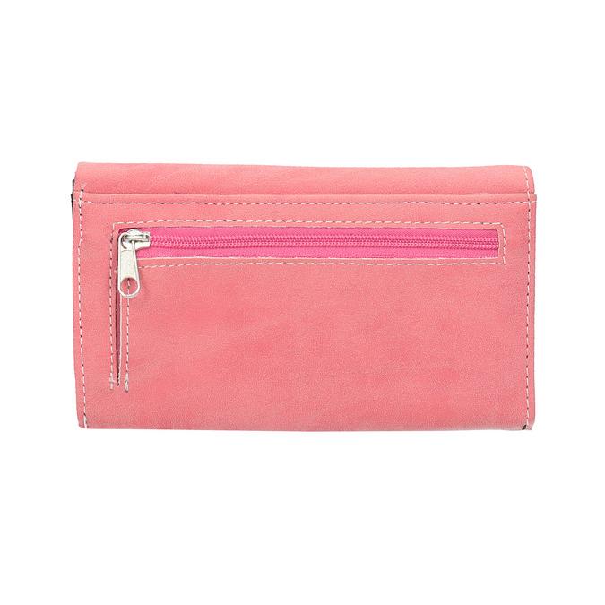 Růžová dámská peněženka bata, růžová, 941-1153 - 19