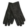 Kožené rukavice s vlněnou podšívkou junek, černá, 924-6036 - 13