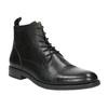 Kožená kotníčková obuv vagabond, černá, 894-6001 - 13