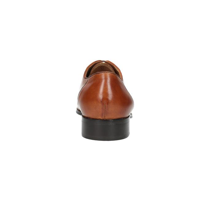 Celokožené polobotky v Oxford stylu bata, hnědá, 826-3788 - 17