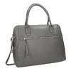 Šedá kožená kabelka gabor-bags, šedá, 964-2001 - 13