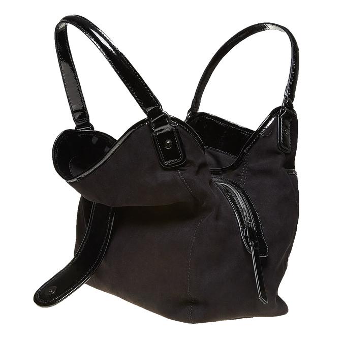 Elegantní dámská kabelka bata, černá, 969-6209 - 19