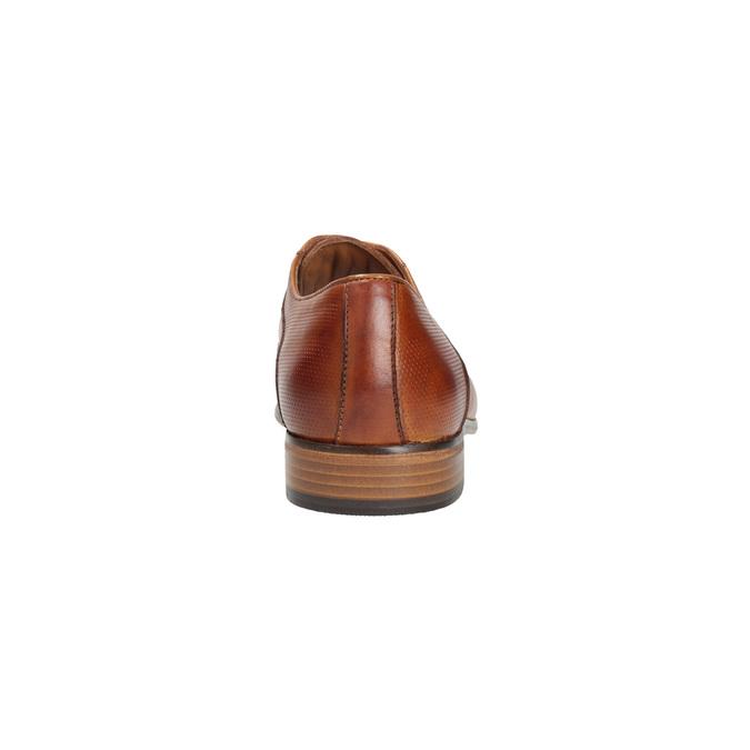 Pánské celokožené polobotky bata, hnědá, 826-3778 - 17