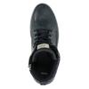 Kožená kotníčková obuv bata, modrá, 846-9615 - 19