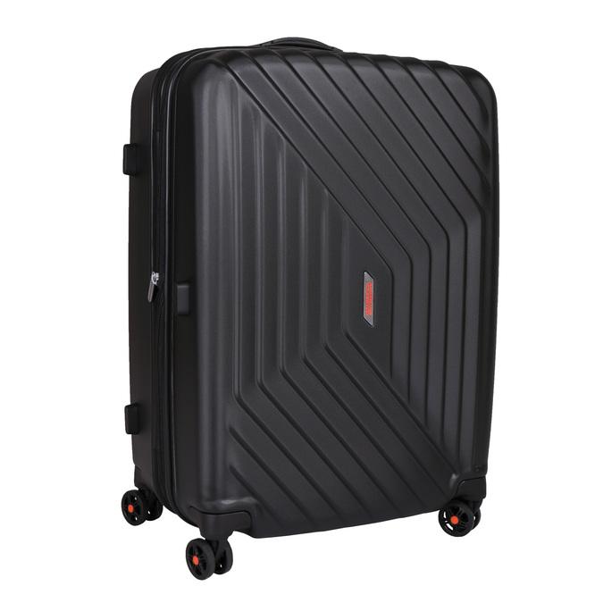 Černý skořepinový kufr na kolečkách american-tourister, černá, 960-6111 - 13