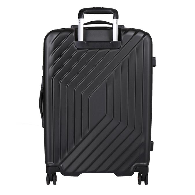 Černý skořepinový kufr na kolečkách american-tourister, černá, 960-6111 - 26