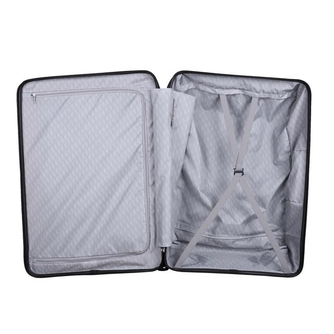 Černý cestovní kufr na kolečkách samsonite, černá, 960-6113 - 15