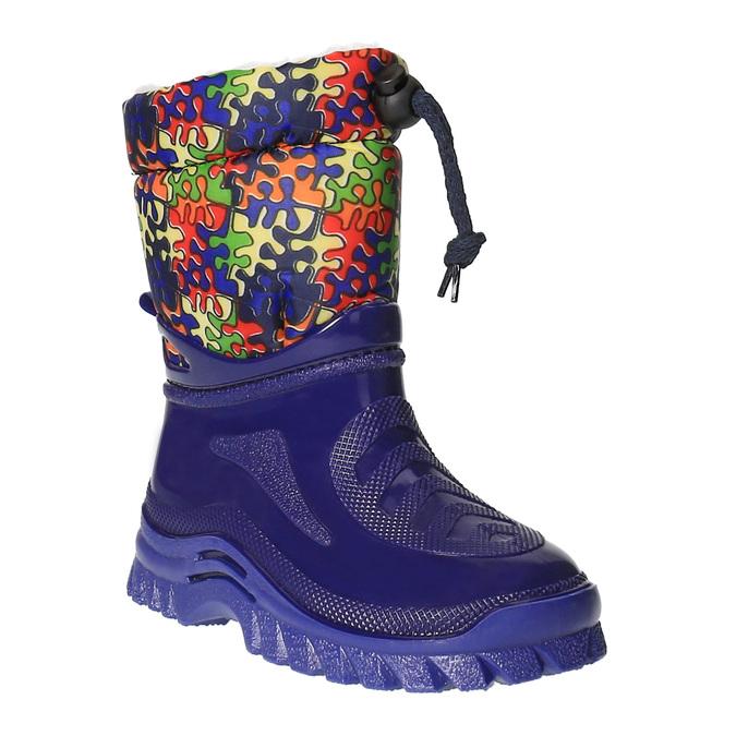 Dětská zimní obuv se zateplením mini-b, modrá, 292-9201 - 13