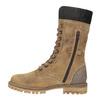 Dámská zimní obuv s kožíškem weinbrenner, hnědá, 593-8476 - 19