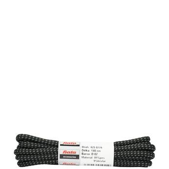Kulaté tkaničky bata, černá, 901-6148 - 13