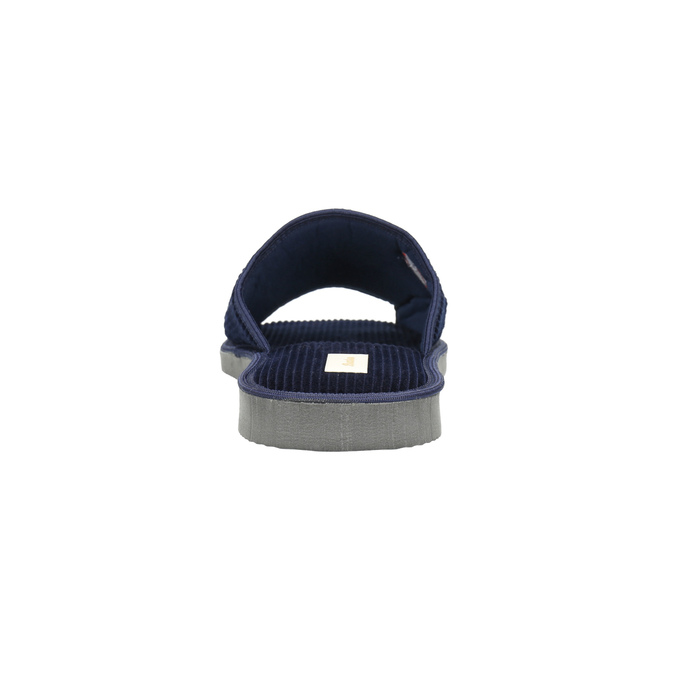 Pánská domácí obuv bata, modrá, 879-9608 - 17