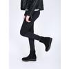 Kotníčková obuv na flatformě bata, černá, 699-6601 - 18