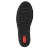 Dámské kožené tenisky bata, černá, 524-6349 - 26