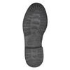 Dámská kožená kotníčková obuv weinbrenner, šedá, 596-6632 - 26