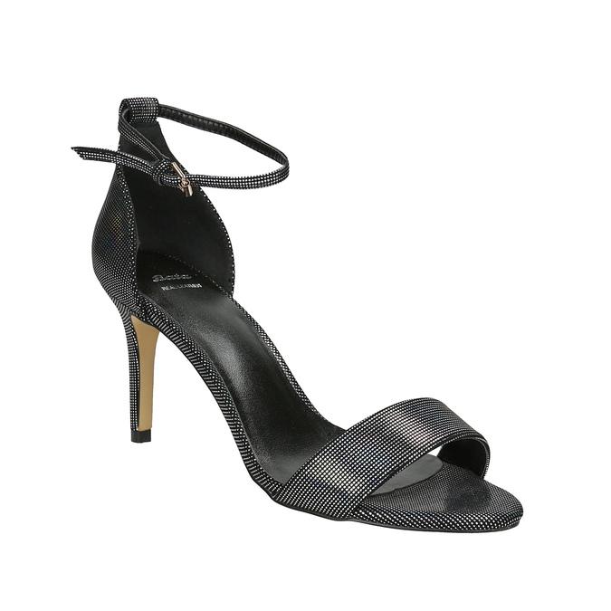Sandály na jehlovém podpatku s duhovými odlesky bata, 729-0631 - 13
