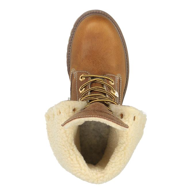 Dámská zimní obuv weinbrenner, hnědá, 596-4638 - 19