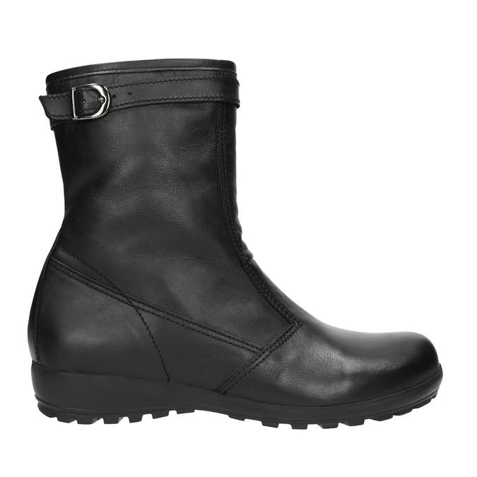 Kožená zimní obuv dámská bata, černá, 594-6269 - 15