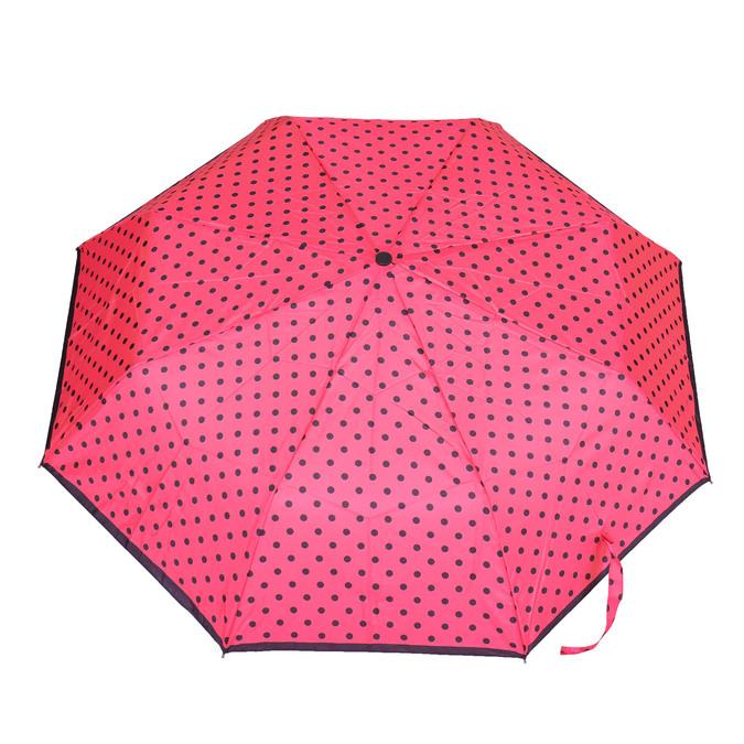Skládací deštník s puntíky bata, růžová, 909-5601 - 26