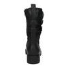 Dámské kozačky v motorkářském stylu bata, černá, 599-6610 - 17