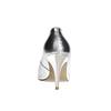 Dámské kožené lodičky stříbrné bata, stříbrná, 726-1644 - 17