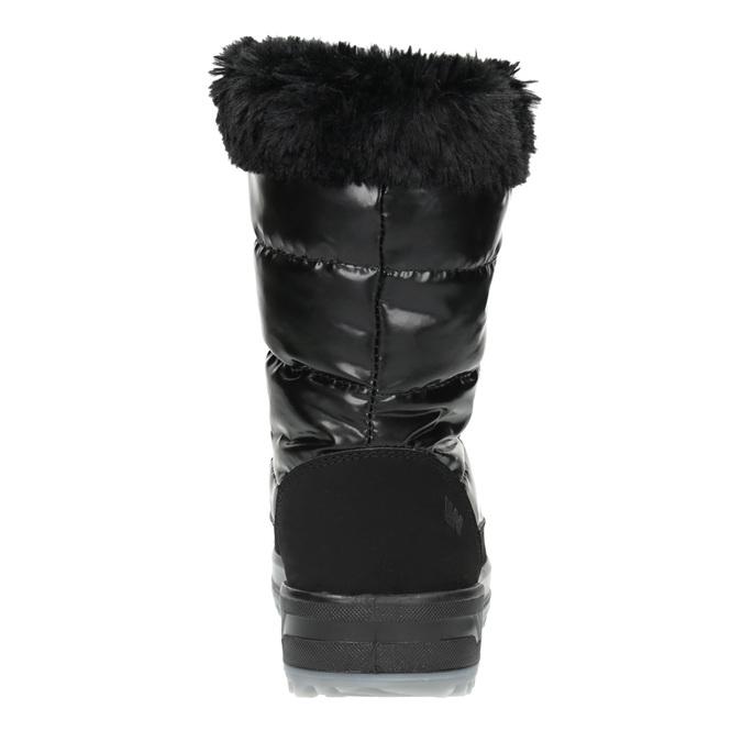 Černé sněhule s kožíškem weinbrenner, černá, 591-6617 - 17