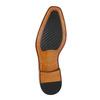 Kožené Oxford polobotky s Brogue zdobením bata, hnědá, 826-3811 - 26
