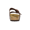 Dětská domácí obuv birkenstock, hnědá, 361-4015 - 17