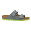 Dětská domácí obuv birkenstock, šedá, 361-2013 - 15