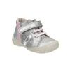 Dívčí kotníčková obuv stříbrná bubblegummers, šedá, 121-2614 - 13