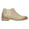 Kožené Chelsea Boots bata, béžová, 594-8432 - 15