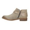 Kožená kotníčková obuv se sponou bata, hnědá, 596-3634 - 26