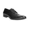 Černé kožené polobotky bata, černá, 824-6814 - 13